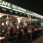【Cafe dumond】夜のフレンチクォーターでお茶といえば!